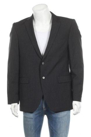 Ανδρικό σακάκι Strellson, Μέγεθος L, Χρώμα Μαύρο, 100% μαλλί, Τιμή 18,12€