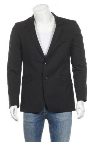 Ανδρικό σακάκι Strellson, Μέγεθος M, Χρώμα Μαύρο, 98% μαλλί, 2% ελαστάνη, Τιμή 46,73€