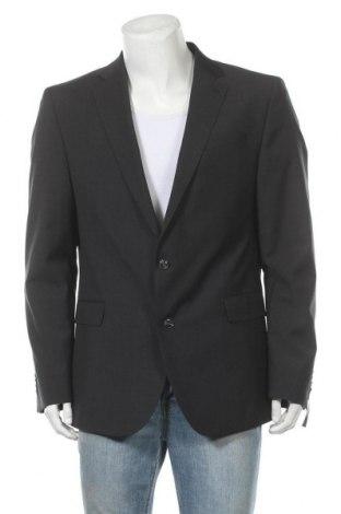 Ανδρικό σακάκι Strellson, Μέγεθος XL, Χρώμα Γκρί, Μαλλί, Τιμή 46,73€