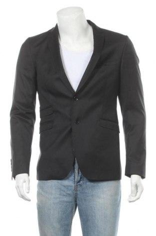Мъжко сако Strellson, Размер S, Цвят Черен, 70% вълна, 30% полиамид, Цена 194,25лв.