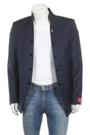 Мъжко сако Tziacco, Размер XL, Цвят Син, 53% полиестер, 44% вълна, 3% еластан, Цена 210,97лв.