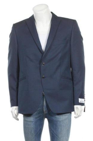 Мъжко сако Wilvorst, Размер XL, Цвят Син, 55% полиестер, 45% вълна, Цена 203,67лв.