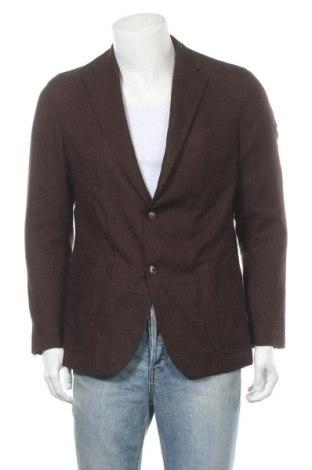 Мъжко сако Windsor, Размер L, Цвят Кафяв, 50% други тъкани, 30% вълна, 25% коприна, 5% кашмир, Цена 66,75лв.