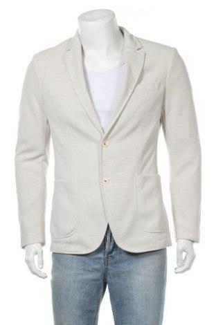 Мъжко сако Zara Man, Размер XL, Цвят Бежов, Полиестер, Цена 40,05лв.