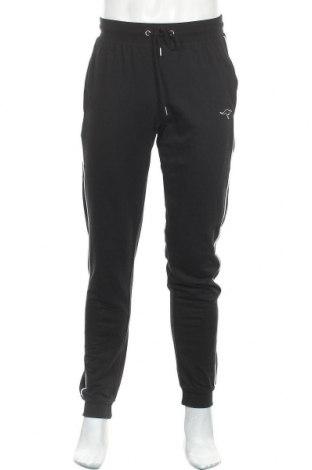 Ανδρικό αθλητικό παντελόνι Kangaroos, Μέγεθος S, Χρώμα Μαύρο, 60% βαμβάκι, 40% πολυεστέρας, Τιμή 18,25€