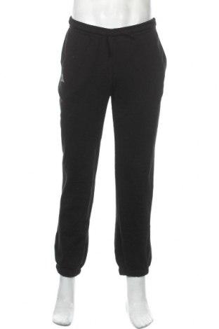 Ανδρικό αθλητικό παντελόνι Kappa, Μέγεθος S, Χρώμα Μαύρο, 80% βαμβάκι, 20% πολυεστέρας, Τιμή 18,32€