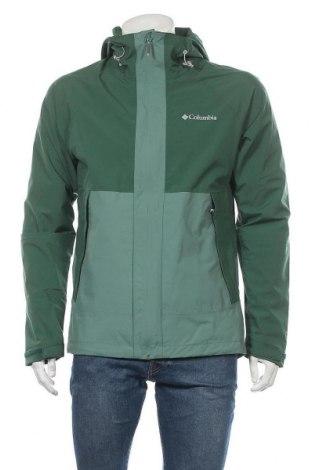 Мъжко спортно яке Columbia, Размер M, Цвят Зелен, Полиестер, Цена 151,20лв.