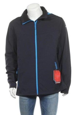 Мъжко спортно яке Icepeak, Размер XXL, Цвят Син, 94% полиестер, 6% еластан, Цена 64,97лв.