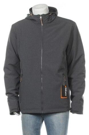 Мъжко спортно яке Icepeak, Размер XL, Цвят Сив, 92% полиестер, 8% еластан, Цена 86,87лв.