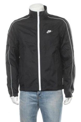 Мъжко спортно яке Nike, Размер M, Цвят Черен, Полиестер, Цена 141,75лв.