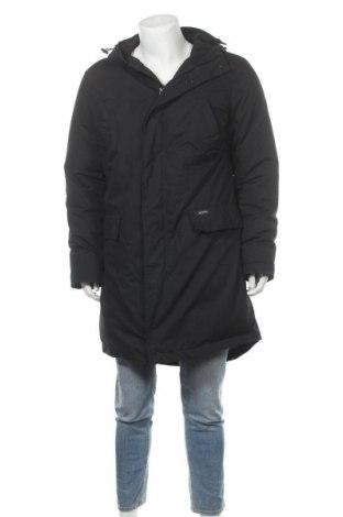 Мъжко яке, Размер L, Цвят Черен, 68% полиестер, 32% памук, Цена 48,00лв.