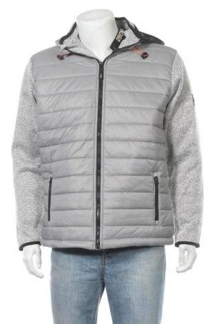 Ανδρικό μπουφάν Indigo, Μέγεθος XL, Χρώμα Γκρί, Πολυεστέρας, Τιμή 29,73€