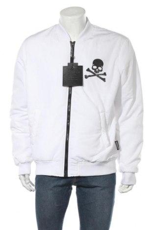 Ανδρικό μπουφάν Philipp Plein, Μέγεθος XL, Χρώμα Λευκό, Πολυεστέρας, Τιμή 334,52€