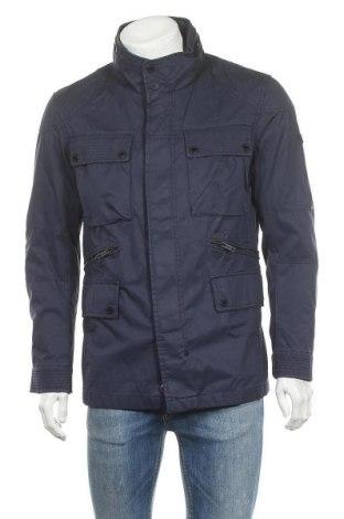 Ανδρικό μπουφάν Strellson, Μέγεθος M, Χρώμα Μπλέ, Βαμβάκι, Τιμή 36,19€