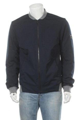 Мъжко яке Tom Tailor, Размер L, Цвят Син, 75% полиестер, 15% памук, 10% полиамид, Цена 99,00лв.