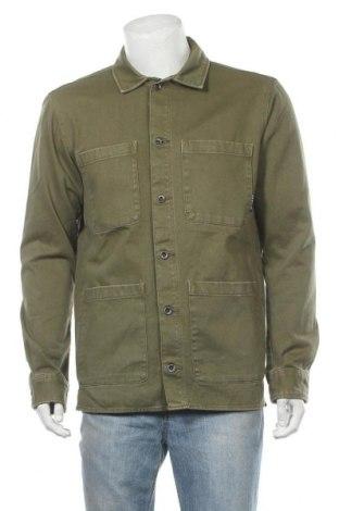 Мъжко яке Tom Tailor, Размер L, Цвят Зелен, Памук, Цена 114,00лв.