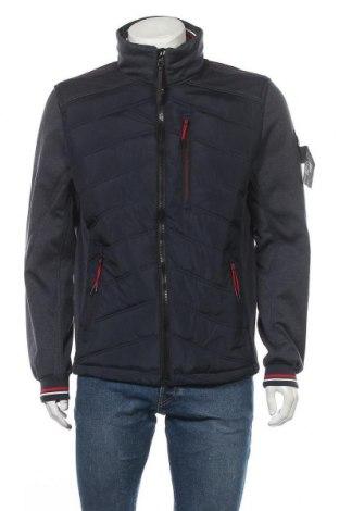 Ανδρικό μπουφάν Tom Tailor, Μέγεθος L, Χρώμα Μπλέ, Πολυεστέρας, Τιμή 73,07€