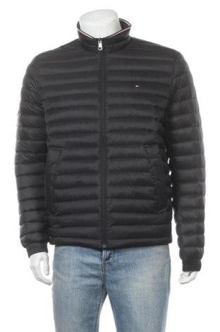 Ανδρικό μπουφάν Tommy Hilfiger, Μέγεθος L, Χρώμα Μαύρο, Πολυαμίδη, φτερά και πούπουλα, Τιμή 108,75€