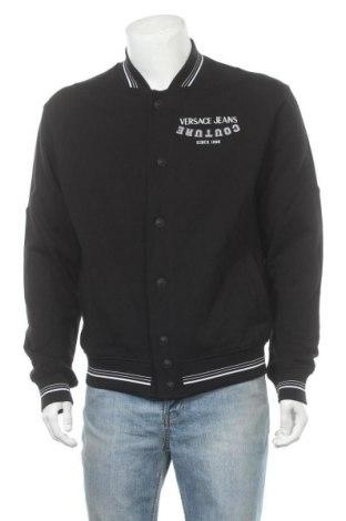 Мъжко яке Versace Jeans, Размер M, Цвят Черен, Памук, Цена 441,75лв.
