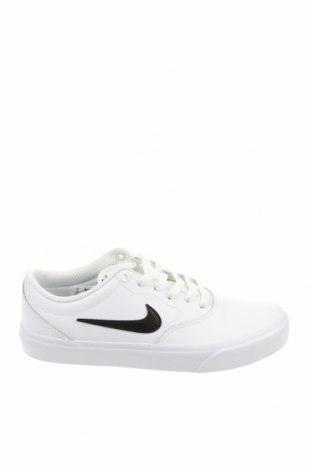 Обувки Nike, Размер 40, Цвят Бял, Естествена кожа, Цена 113,40лв.