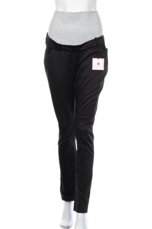 Панталон за бременни Envie De Fraise, Размер M, Цвят Черен, 97% памук, 3% еластан, Цена 31,27лв.