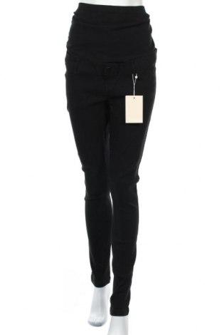 Панталон за бременни Mamalicious, Размер XL, Цвят Черен, 80% вискоза, 17% полиамид, 3% еластан, Цена 41,87лв.
