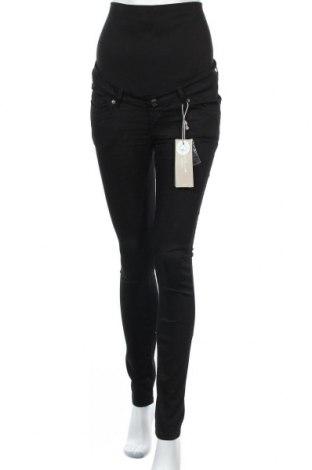 Панталон за бременни Noppies Maternity, Размер M, Цвят Черен, 67% памук, 29% полиестер, 4% еластан, Цена 47,17лв.