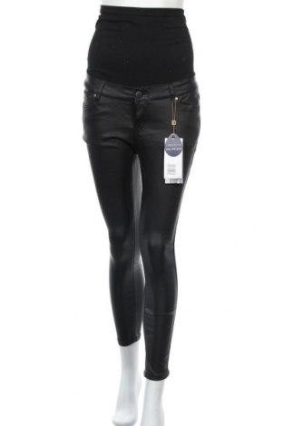 Панталон за бременни Reform Jeans, Размер M, Цвят Черен, 98% памук, 2% еластан, Цена 36,57лв.
