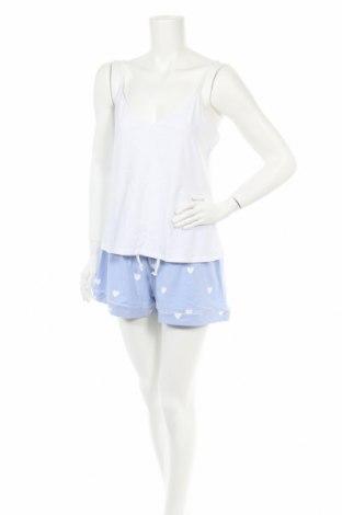 Пижама Anna Field, Размер L, Цвят Бял, 95% памук, 5% еластан, Цена 29,25лв.