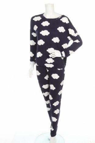 Пижама Anna Field, Размер S, Цвят Син, 95% вискоза, еластан, Цена 31,50лв.