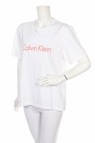 Πιτζάμες Calvin Klein, Μέγεθος L, Χρώμα Λευκό, Βαμβάκι, Τιμή 22,81€