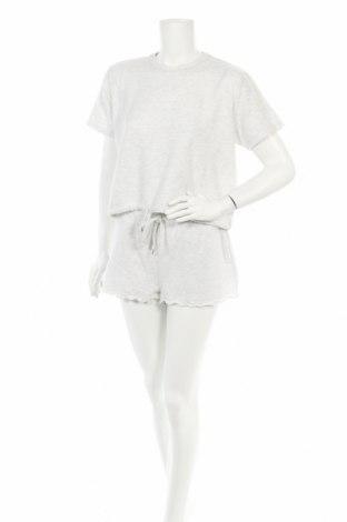 Пижама Cotton On, Размер S, Цвят Сив, 70% полиестер, 25% вискоза, 5% еластан, Цена 29,25лв.