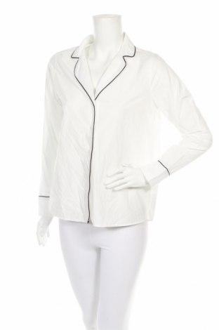Πιτζάμες Gina Tricot, Μέγεθος S, Χρώμα Λευκό, Βαμβάκι, Τιμή 10,91€