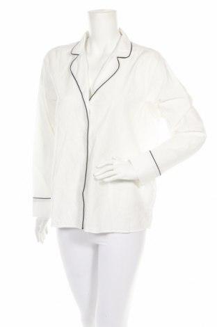 Πιτζάμες Gina Tricot, Μέγεθος M, Χρώμα Λευκό, Βαμβάκι, Τιμή 12,04€