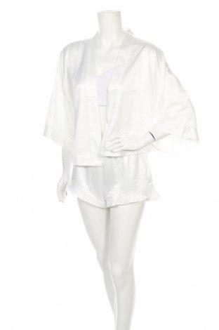 Пижама Linga Dore, Размер S, Цвят Бял, Полиестер, Цена 44,25лв.