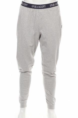 Пижама Lyle & Scott, Размер L, Цвят Сив, 95% памук, 5% еластан, Цена 46,50лв.