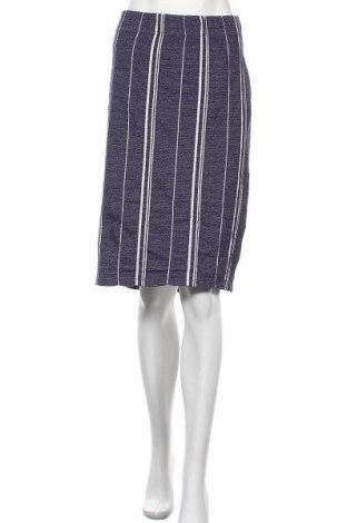 Φούστα B Collection, Μέγεθος XL, Χρώμα Μπλέ, Βαμβάκι, πολυεστέρας, ελαστάνη, Τιμή 9,94€