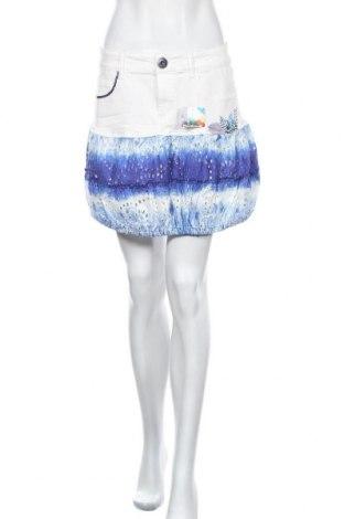 Φούστα Desigual, Μέγεθος M, Χρώμα Λευκό, 99% βαμβάκι, 1% ελαστάνη, Τιμή 19,95€
