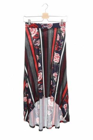 Φούστα Desigual, Μέγεθος XS, Χρώμα Πολύχρωμο, Βισκόζη, Τιμή 8,52€