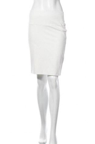 Пола Kaffe, Размер M, Цвят Бял, 95% памук, 5% еластан, Цена 35,40лв.