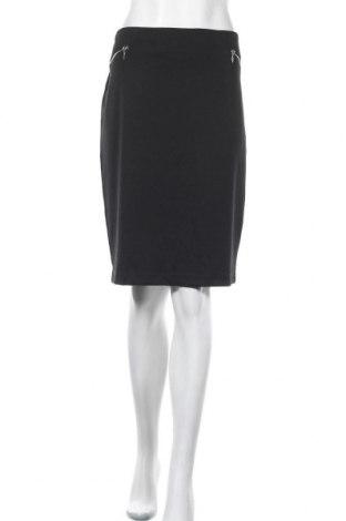 Φούστα Khoko, Μέγεθος XL, Χρώμα Μαύρο, Πολυεστέρας, βισκόζη, ελαστάνη, Τιμή 11,72€