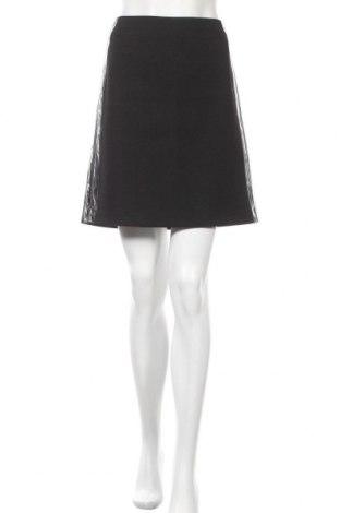 Φούστα Stefanel, Μέγεθος M, Χρώμα Μαύρο, Πολυεστέρας, Τιμή 22,27€