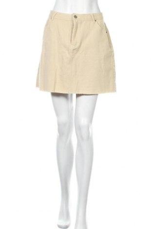 Φούστα Supre, Μέγεθος XL, Χρώμα  Μπέζ, Βαμβάκι, Τιμή 14,36€