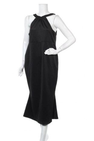 Φόρεμα ASOS, Μέγεθος XL, Χρώμα Μαύρο, 93% πολυεστέρας, 7% ελαστάνη, Τιμή 11,82€