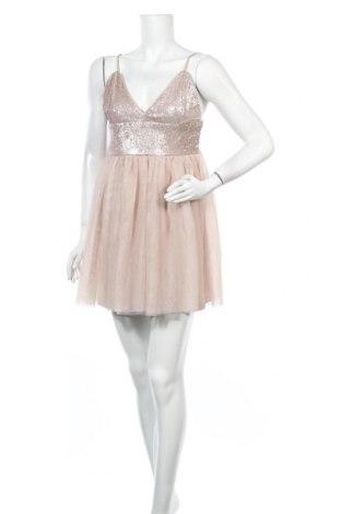 Φόρεμα Ardene, Μέγεθος L, Χρώμα  Μπέζ, Πολυεστέρας, Τιμή 12,47€