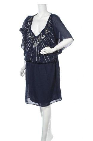 Φόρεμα Boohoo, Μέγεθος 3XL, Χρώμα Μπλέ, 100% πολυεστέρας, Τιμή 25,30€