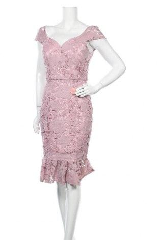 Рокля Chi Chi, Размер M, Цвят Розов, Полиестер, Цена 72,08лв.