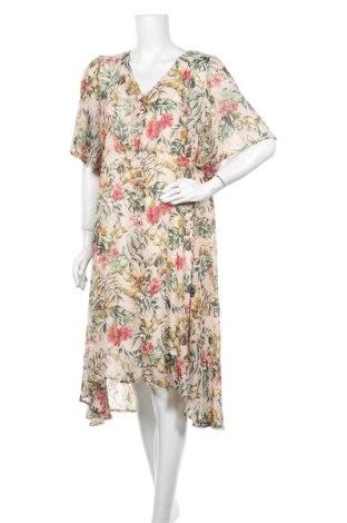 Φόρεμα Cream, Μέγεθος XL, Χρώμα Πολύχρωμο, Πολυεστέρας, Τιμή 60,98€