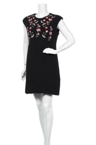 Šaty  Desigual, Velikost XL, Barva Černá, 65% polyester, 31% viskóza, 4% elastan, Cena  540,00Kč