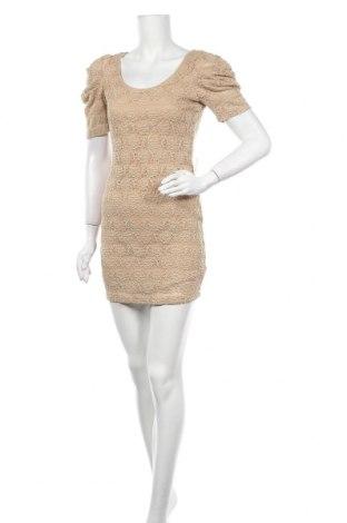 Φόρεμα Forever 21, Μέγεθος L, Χρώμα  Μπέζ, 52% πολυεστέρας, 46% πολυαμίδη, 2% ελαστάνη, Τιμή 25,33€